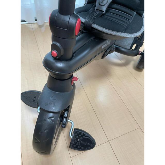 スマートフォールド スマートライク500 折りたたみ 三輪車 ベビーカー キッズ/ベビー/マタニティの外出/移動用品(ベビーカー/バギー)の商品写真