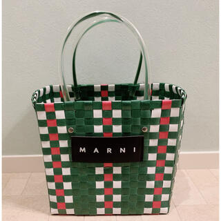 マルニ(Marni)の✨MARNI✨マルニ マルニフラワーカフェ かごバッグ ピクニック(かごバッグ/ストローバッグ)