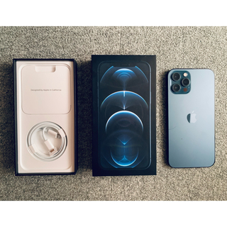 iPhone - iPhone 12 Pro Max Simフリー 128GB パシフィックブルー