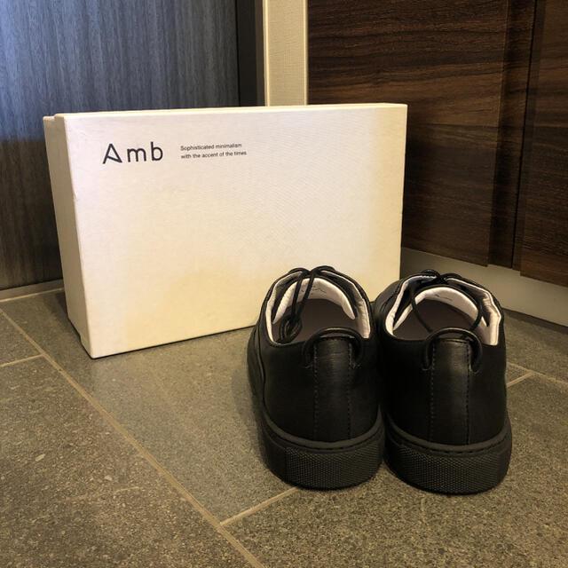 KAZUYUKI KUMAGAI ATTACHMENT(カズユキクマガイアタッチメント)のAmb レザー スニーカー シューズ カズユキクマガイ ヨウジヤマモト メンズの靴/シューズ(スニーカー)の商品写真
