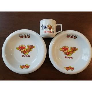 アンパンマン(アンパンマン)のアンパンマン カレー皿、マグカップ(食器)