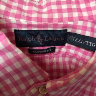 ポロラルフローレン(POLO RALPH LAUREN)のラルフローレン BD半袖シャツ XXL ワンポイントロゴ 希少(シャツ)