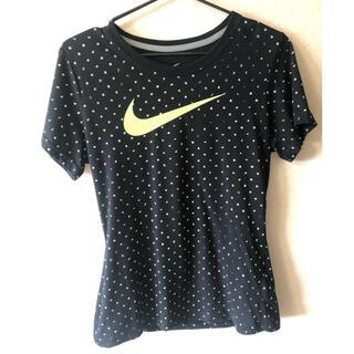 NIKE - ナイキ速乾性Tシャツ 黒 Lサイズ