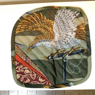 鍋敷き 鷹 ハンドメイド(キッチン小物)