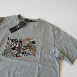 ブラックレーベルクレストブリッジ(BLACK LABEL CRESTBRIDGE)のブラックレーベルクレストブリッジ 未使用グレー 半袖Tシャツ M(Tシャツ/カットソー(半袖/袖なし))