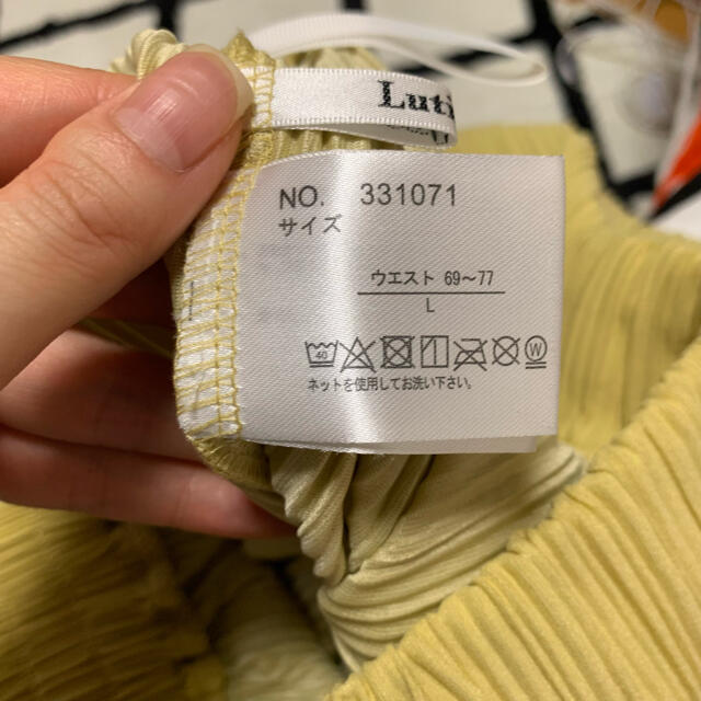 しまむら(シマムラ)のしまむら♡プリーツパンツ レディースのパンツ(カジュアルパンツ)の商品写真