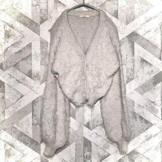 ミスティック(mystic)のカーディガン mystic ミスティック ニット レディース グレー 秋服 冬服(カーディガン)