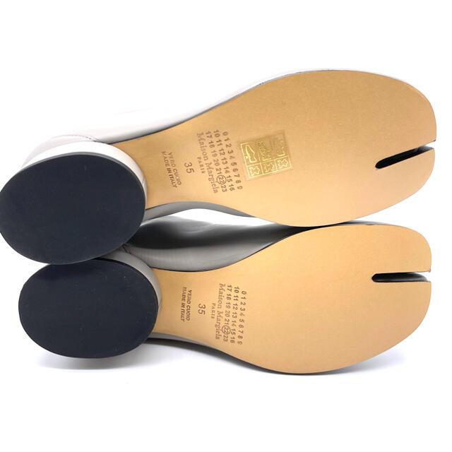 Maison Martin Margiela(マルタンマルジェラ)のマルジェラ 足袋 ブーツ tabi たび グレー 35 日本未発売 ローヒール レディースの靴/シューズ(ブーツ)の商品写真