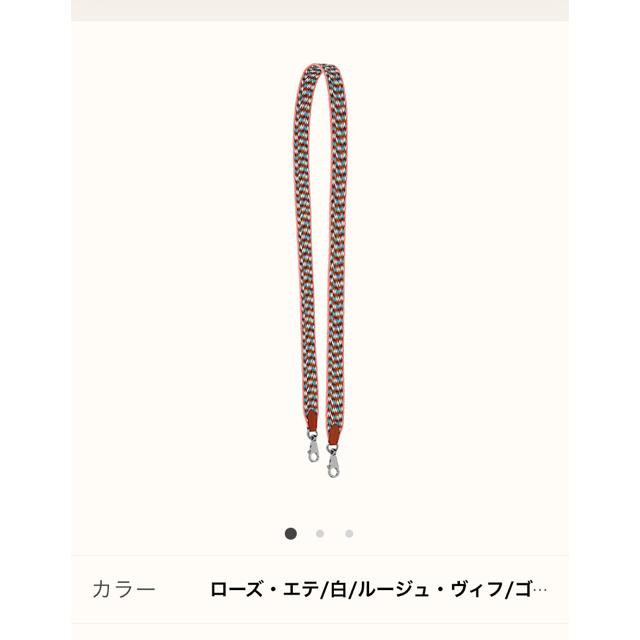 Hermes(エルメス)の【美品】エルメス バンドリエール ジグザグ105 シルバー金具 レディースのバッグ(ショルダーバッグ)の商品写真