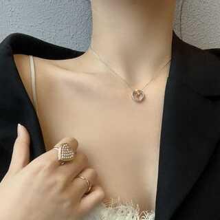 セリーヌ(celine)の#972 import : multi circle ring neckless(ネックレス)
