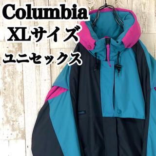 コロンビア(Columbia)のコロンビア XL ワンポイント アシンメトリー マウンテンパーカー(その他)