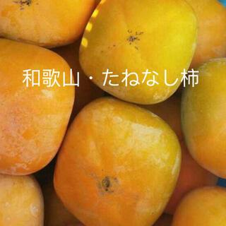 家庭用 和歌山産 たねなし柿 7.5キロ