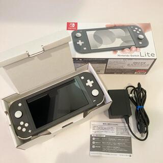 Nintendo Switch - ニンテンドースイッチ ライト グレー 本体