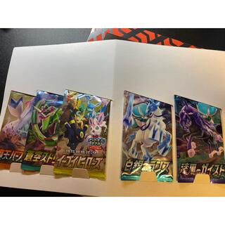 ポケモン(ポケモン)のポケモントレーナーカードコレクション バラ5パック(Box/デッキ/パック)