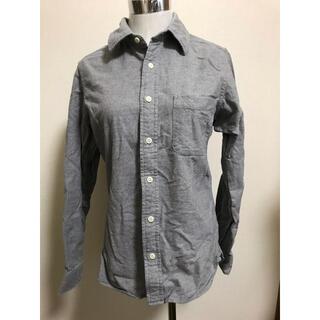 MUJI (無印良品) - 無印良品 シャツ グレー