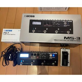 BOSS - BOSS MS-3 Multi Effects Switcher+FS-7