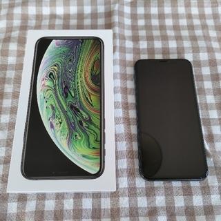 アイフォーン(iPhone)のiPhone Xs Space Gray 256 GB SIMフリー(スマートフォン本体)
