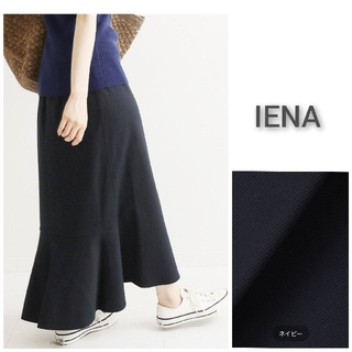 IENA - ギンガムカットソーマーメイドスカート 34