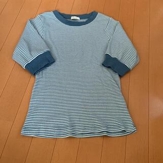 アースミュージックアンドエコロジー(earth music & ecology)のボーダーリブT(Tシャツ(半袖/袖なし))