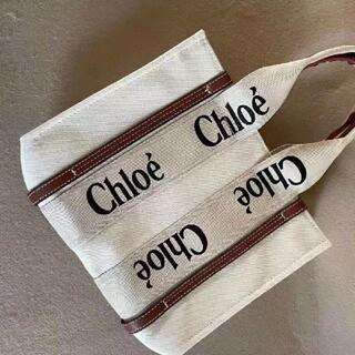 クロエ(Chloe)のChloe クロエ woody トートバッグ(トートバッグ)