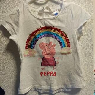 エイチアンドエム(H&M)のペッパピッグ Tシャツ 104(Tシャツ/カットソー)