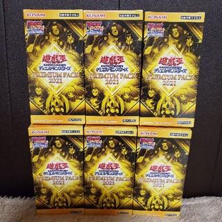 ユウギオウ(遊戯王)の遊戯王 プレミアムパック 2021 6BOX  (Box/デッキ/パック)