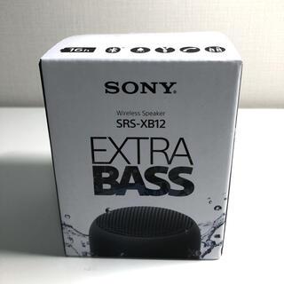 SONY - ソニー SONY ワイヤレスポータブルスピーカー SRS-XB12