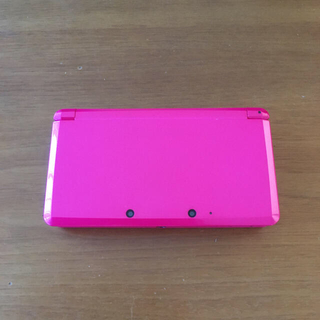 Nintendo 3DS 本体 グロスピンク