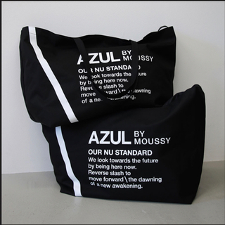 AZUL by moussy - AZUL by moussy ノベルティ ビッグトートバッグ