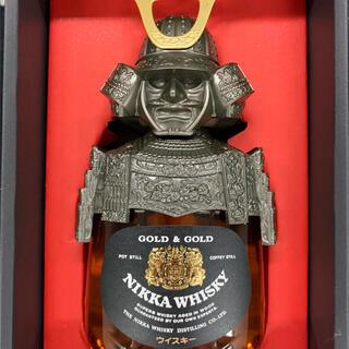ニッカウヰスキー - ニッカウイスキーG&G* Nikka Whisky Gold&Gold カブト