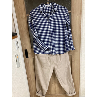 サマンサモスモス(SM2)のレディースシャツ(シャツ/ブラウス(半袖/袖なし))