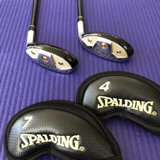 SPALDING - 美品ゴルフクラブ スポルティング4番7番2本セット