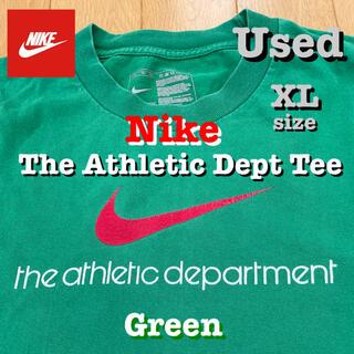 NIKE - 中古‼️ NIKE The Athletic Dept Tee 緑 XL 送料込