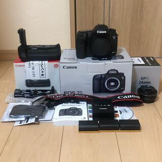 Canon - Canon キヤノン EOS 7D Mark2 バッテリークリップ、レンズセット
