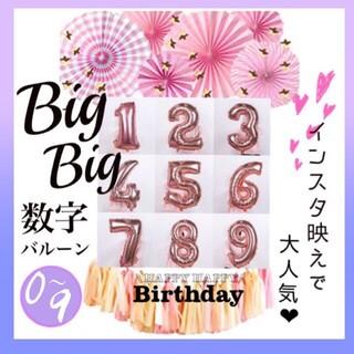 数字バルーン ビッグバルーン 記念日や誕生日を盛り上げよう(ウェルカムボード)