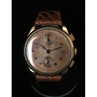 ブライトリング(BREITLING)のブライトリング 縦目のクロノグラフ Venus 170 18K ケース(腕時計(アナログ))