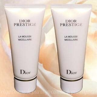 ディオール(Dior)の【Dior】リニューアル品 ディオール プレステージ ラムース 50g×2本(洗顔料)