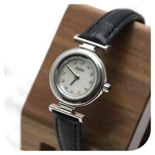 FENDI - 【ヴィンテージ 美品】FENDI フェンディ 腕時計 シルバー ダイヤ 12P