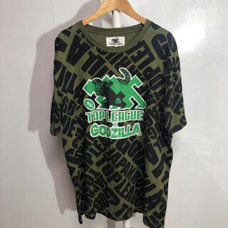 top league ゴジラ Tシャツ LL-LLL グリーン 品番41