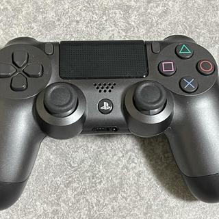 ソニー(SONY)のSONY CUH-ZCT2J(ガンメタリック)PS4コントローラー(携帯用ゲーム機本体)