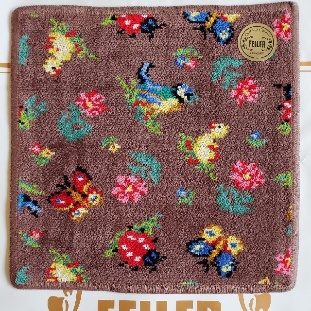 FEILER(フェイラー)のハイジ☆ミディアムブラウン レディースのファッション小物(ハンカチ)の商品写真