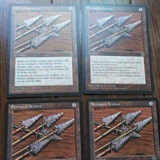 マジックザギャザリング(マジック:ザ・ギャザリング)の★鋸刃の矢 英語4枚(シングルカード)