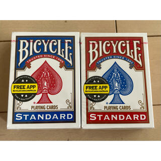 BICYCLE   トランプ 赤と青2個セット(トランプ/UNO)
