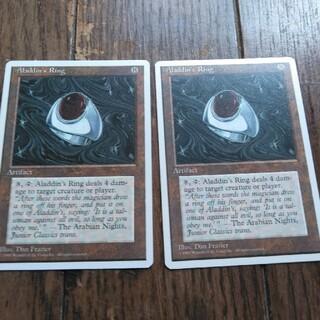 マジックザギャザリング(マジック:ザ・ギャザリング)の★アラジンの指輪 英語2枚(シングルカード)