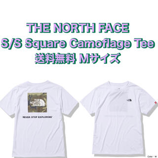 THE NORTH FACE - THE NORTH  FACE Square Camoflage Tee