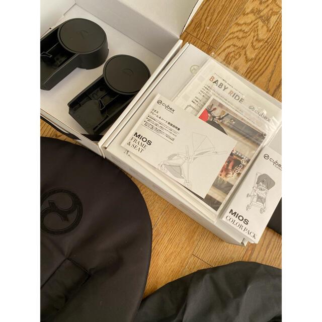 cybex(サイベックス)のmaaa👸🏼様 専用 cybex ミオス ベビーカー コンビ アップリカ キッズ/ベビー/マタニティの外出/移動用品(ベビーカー/バギー)の商品写真