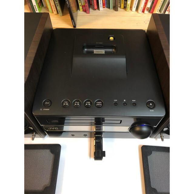Victor(ビクター)のビクター JVC コンパクトコンポーネントシステム スマホ/家電/カメラのオーディオ機器(スピーカー)の商品写真