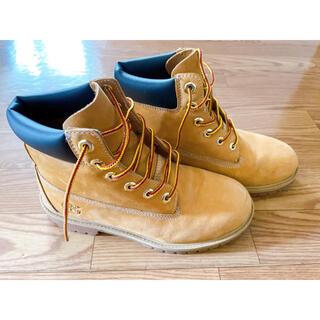 ティンバーランド(Timberland)の美品)ティンバーランド ブーツ 6インチプレミアム ウィートヌバック レディース(ブーツ)