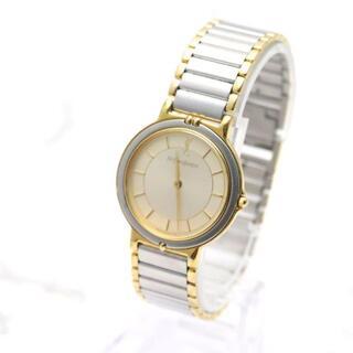 サンローラン(Saint Laurent)の【ヴィンテージ 美品】サンローラン 腕時計 ラウンド型 レディースウォッチ(腕時計)