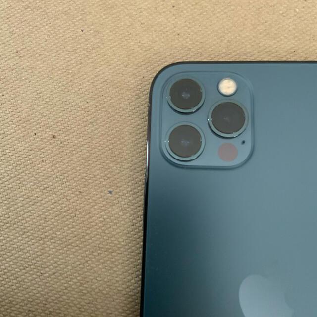 iPhone(アイフォーン)のiPhone 12 pro パシフィックブルー 128 GB SIMフリー スマホ/家電/カメラのスマートフォン/携帯電話(スマートフォン本体)の商品写真